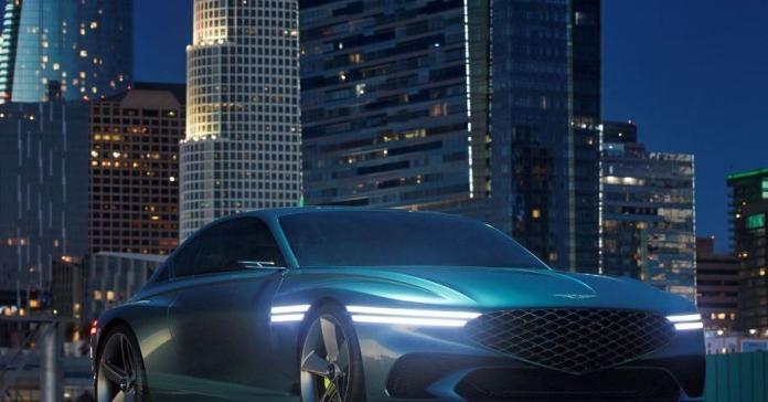 544-сильный Lexus LF-Z, электрокроссовер Kia EV6 и купе Genesis Concept X: главное за неделю