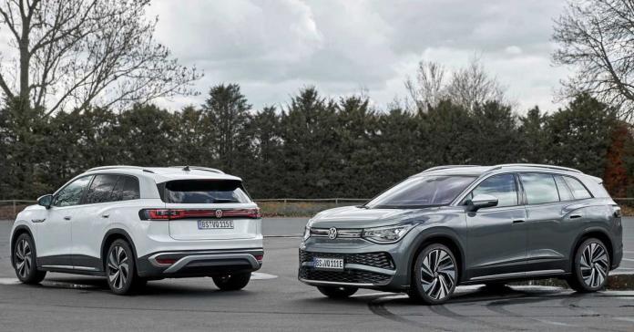 Представлен большой электрический кроссовер Volkswagen ID.6
