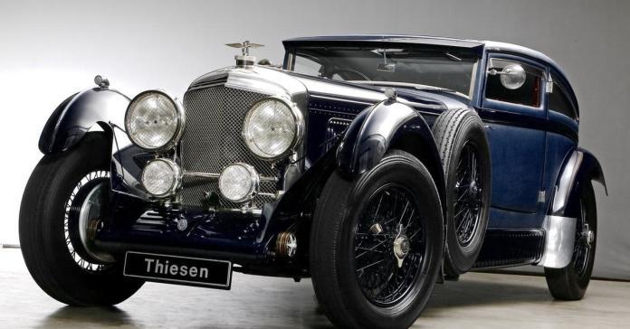 Реплику одного из самых известных Bentley выставили на продажу за 36 миллионов рублей