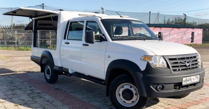 УАЗ «Профи» превратили в многофункциональный фургон