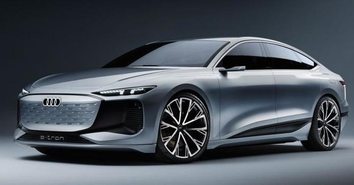 Внешность электрической Audi A6 раскрыли до премьеры