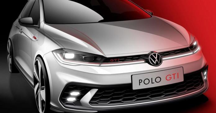 Volkswagen показал, как будет выглядеть обновленный Polo GTI