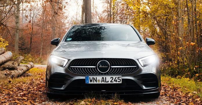 Тюнеры добавили агрессии самому маленькому седану Mercedes-Benz