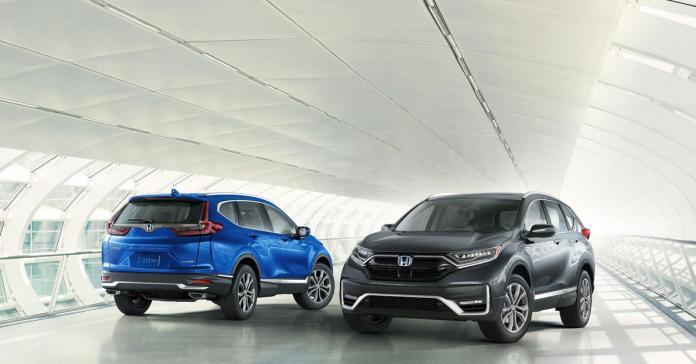 Honda обновила кроссовер CR-V