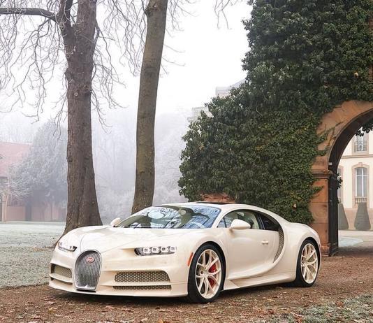 Посмотрите на единственный в мире Bugatti Chiron с салоном Hermès