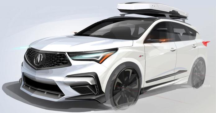 Acura украсила кроссовер RDX карбоном для поднятия настроения