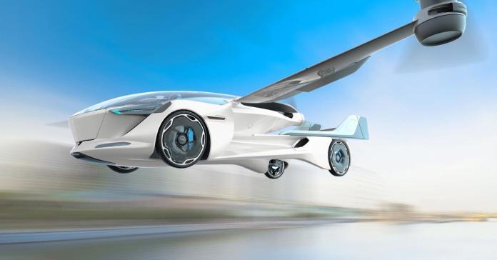 В России построят летающий автомобиль