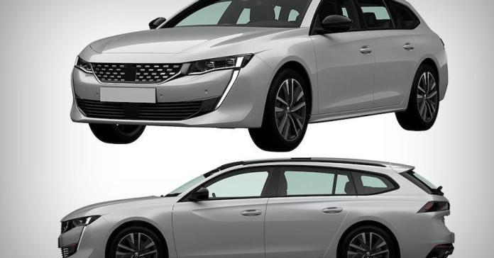 Peugeot запатентовал в Росиии внешность нового универсала